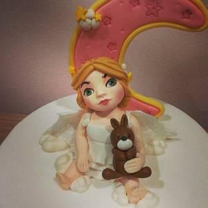 Pretty little angel - Cake by Valeria Antipatico