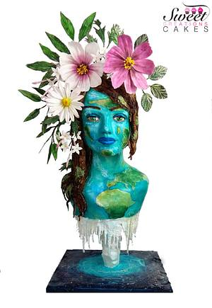 Mother Earth : Acts of Green Collaboration - Cake by Sweet Creations Cakes