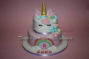 unicornio cake - Cake by Daria Albanese