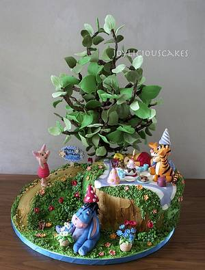 Pooh and Friends  - Cake by Joyliciouscakes