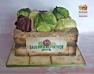 Sauerkrautathon - Cake by Sugar Street Studios by Zoe Burmester