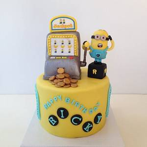 Papoy Hit Jackpot  - Cake by funni