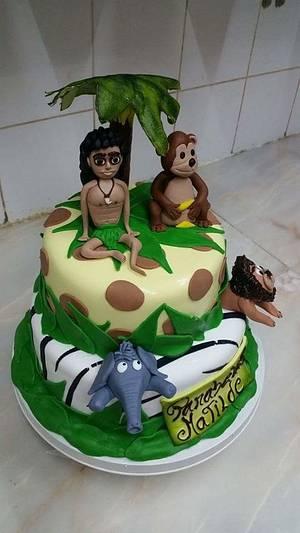 Mogli and friends  - Cake by CandyMan
