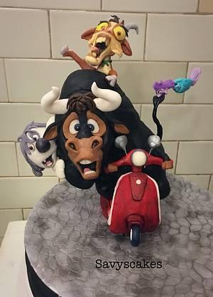 Ferdinand! - Cake by Savyscakes