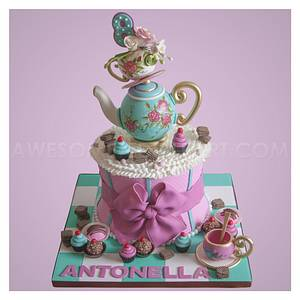 Tea Party Cake - Cake by Andres Enciso