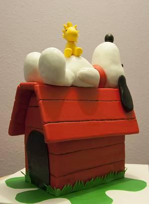 A Snoopy way of life - Cake by Ana Miranda