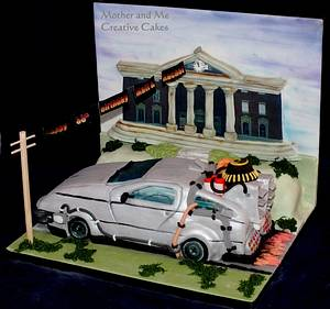 Delorean - Cake by Mother and Me Creative Cakes