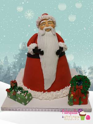 SANTA CLAUS IS COMING TO TOWN! - Cake by Fabriquilla de Azucar