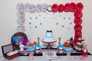 PDCA Caker Buddies Dessert Table Collaboration- Alice In Wonderland - Cake by Archita Saxena