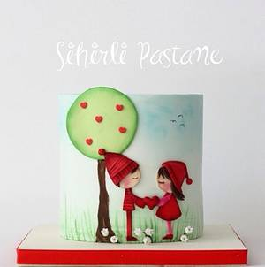 Love Cake - Cake by Sihirli Pastane