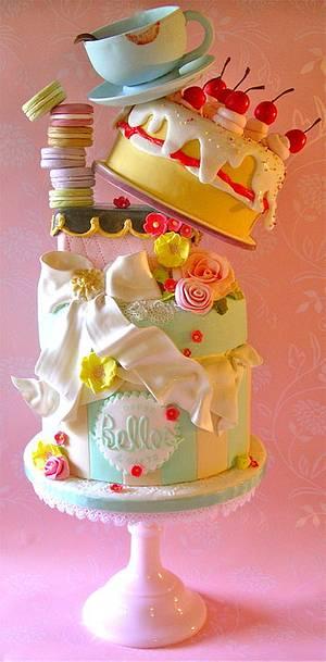 Belles Coffee & Gifts - Cake by Lynette Horner