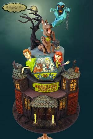 Spooky Scooby - Cake by Adelina Baicu Cake Artist