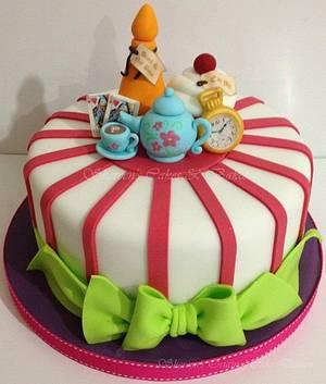 Alice in Wonderland - Cake by Shereen