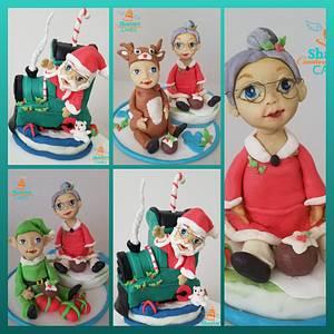 This way to the North Pole..  - Cake by CreativeExplo ( Sharon Siriwardena)