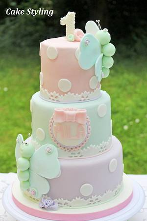 Butterfly cake - Cake by Cake Styling