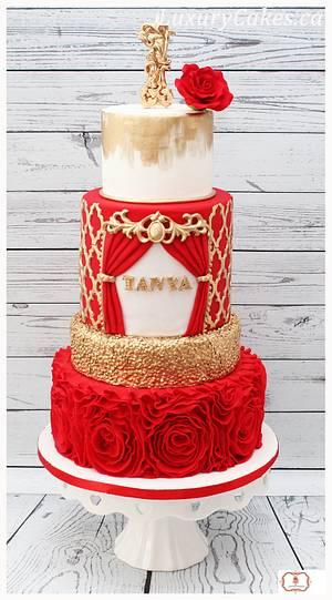 Rosette cake - Cake by Sobi Thiru