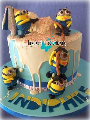 Minion Magic - Cake by Willene Clair Venter