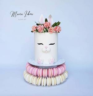 Bunny - Cake by Maira Liboa