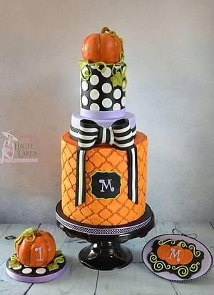 Happy Birthday Pumpkin - Cake by Jenny Kennedy Jenny's Haute Cakes