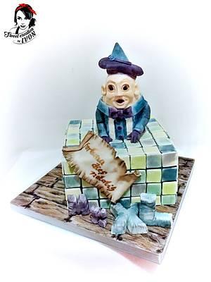 Mr. Crayon XL - Cake by Ivon