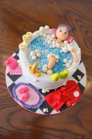Spa day cake - Cake by Jo Sampaio