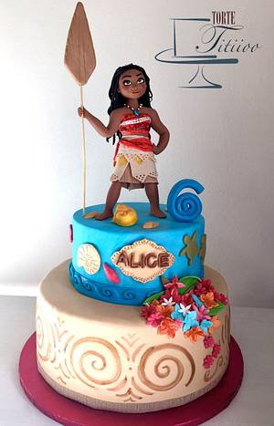 Moana - Cake by Torte Titiioo