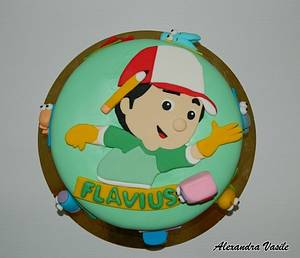Handy Manny cake - Cake by alexandravasile