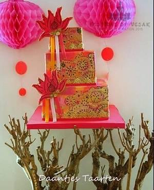 Vesak festival - Cake by Daantje