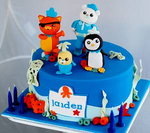 Octonauts Cake - Cake by Zelicious