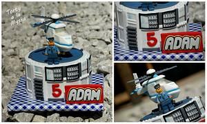 Lego city police  - Cake by Myska