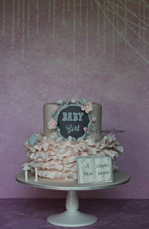 Enchanted forest baby shower cake - Cake by Love Cake Create