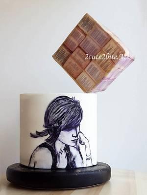 Hanging cube - Cake by 2cute2biteMe(Ozge Bozkurt)