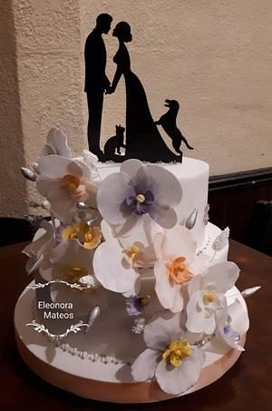 Wedding cake - Cake by Eleonora Laura Mateos