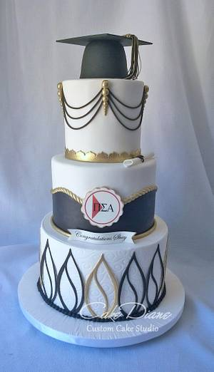 Shay's graduation - Cake by Diane