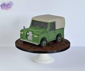 Land Rover - Cake by Magda's Cakes (Magda Pietkiewicz)