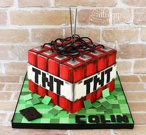 Minecraft TNT - Cake by AlwaysWithCake
