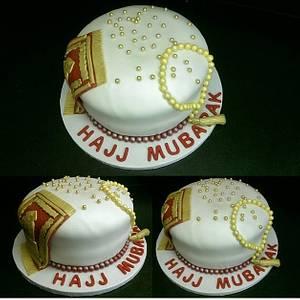 Hajj Mubarak cake - Cake by Raindrops