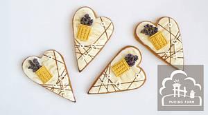 Lavender & Knit Pocket - Cake by PUDING FARM