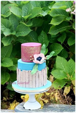 Dummy for Cake International - Cake by De Zoete Suikertoef