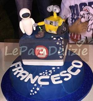 Wall e!! - Cake by Le Pam Delizie