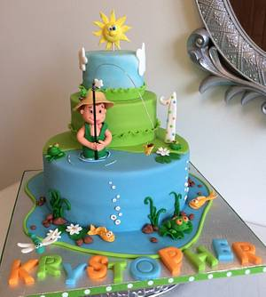 Little fisherman  - Cake by Marie-France