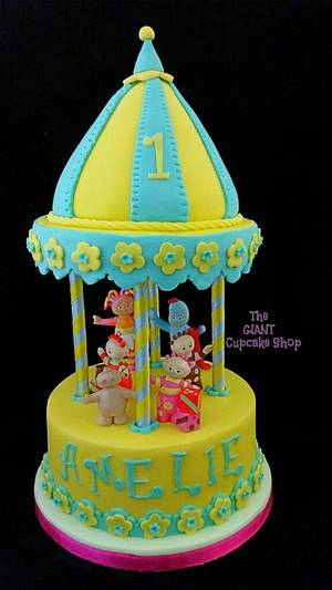 In The Night Garden First Birthday - Cake by Amelia Rose Cake Studio