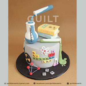 Science Experiment - Cake by Guilt Desserts