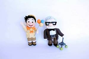 animation 'up' modeling - Cake by fantasticake by mihyun