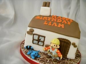 Bob The Builder & Pilchard Birthday Cake - Cake by Christine