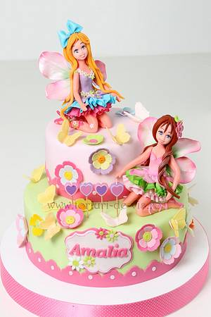 Fairies for Amalia - Cake by Viorica Dinu