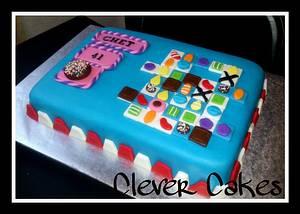 Candy Crush Saga Cake - Cake by Carrie Freeman