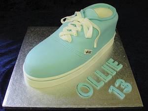 Vans Shoe - Cake by Alison Inglis