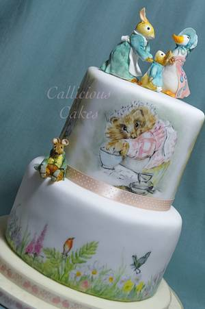 Beatrix Potter Birthday Cake - Cake by Calli Creations