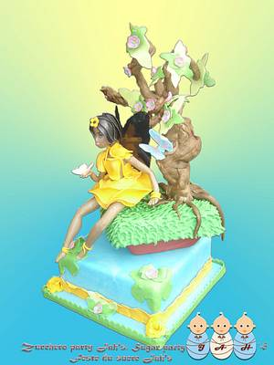 always be with you (Fairies cake) - Cake by Amélie Ngantcha